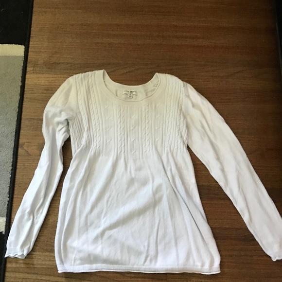 Liz Lange for Target Sweaters - White Liz Lange Maternity Sweater used